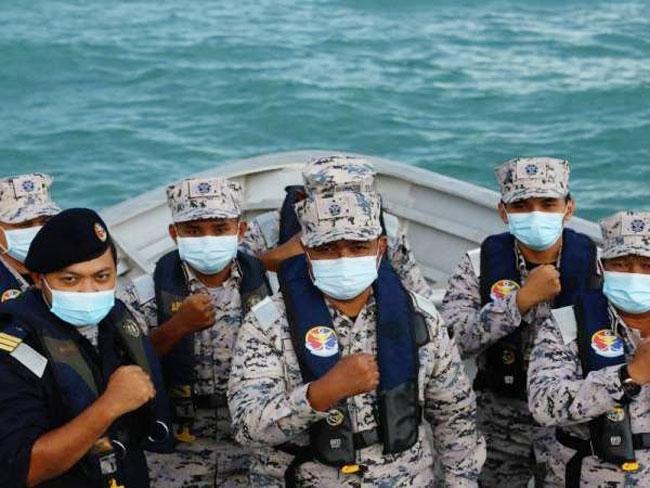 马来西亚海事执法机构来临斋戒月和开斋节执法不松懈。