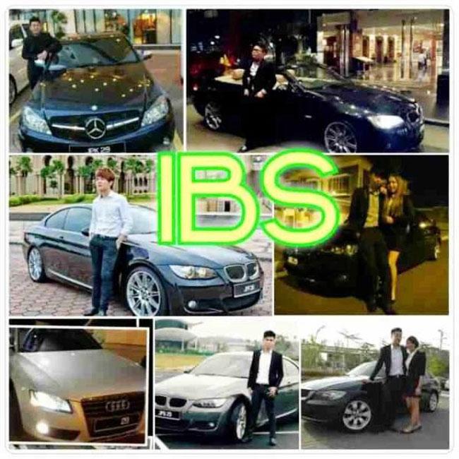 IBS集团高层不间断在网上晒豪车及名表炫富。