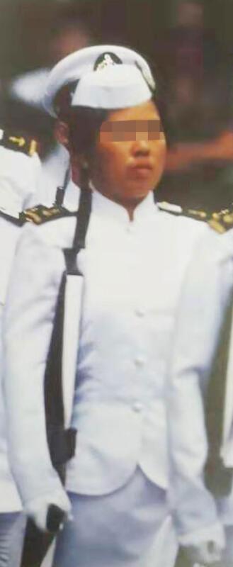 父亲证实,女儿之前是一名海军军官。(取自网络)