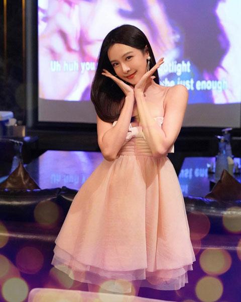李元玲1月时感染新冠肺炎。