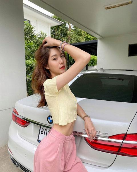 Meimei Thanyawee的日常照与网美看起来没两样。