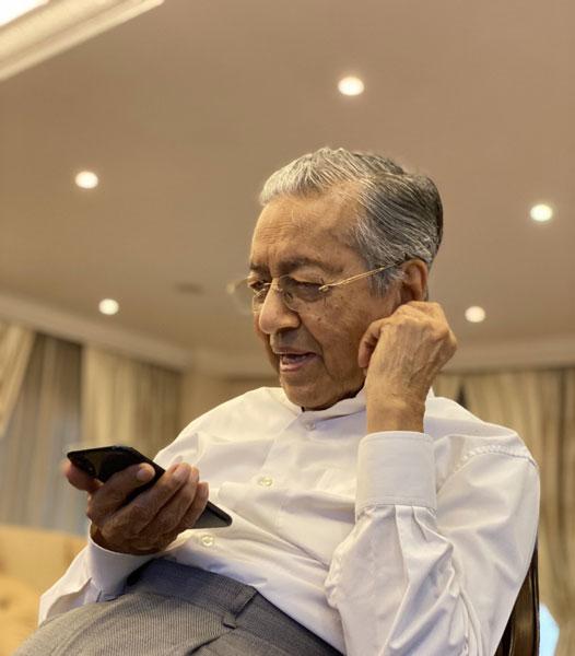 马哈迪与埃尔多安通电话。