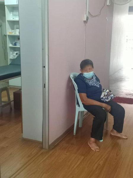 双溪兰一老妇擅自剪断隔离手环,遭开罚5000令吉。