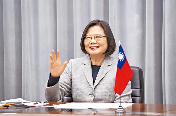 HFX论坛宣布,台湾总统蔡英文,是麦凯恩公共服务领袖奖最新得主。