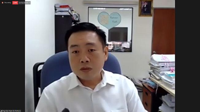 吴健南将代表谢湘怡对保险公司发出诉状。