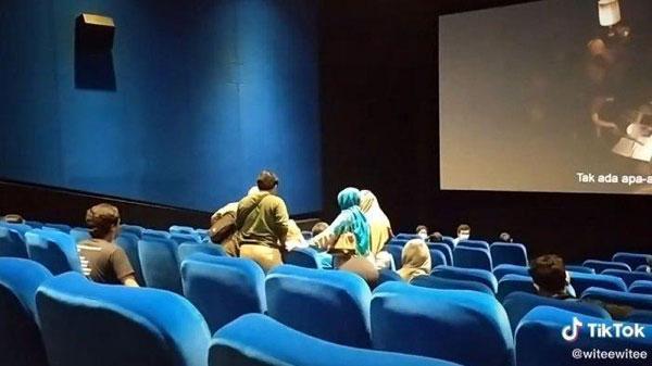 看Conjuring 3看到失控尖叫 电影被逼半途中断