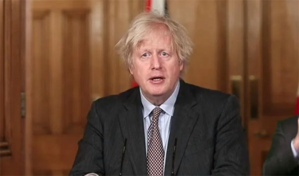 英国首相约翰逊。
