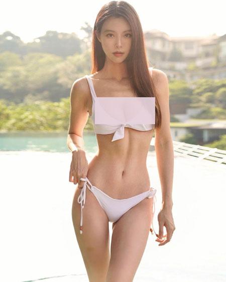 李元玲经常在社交平台放送福利。