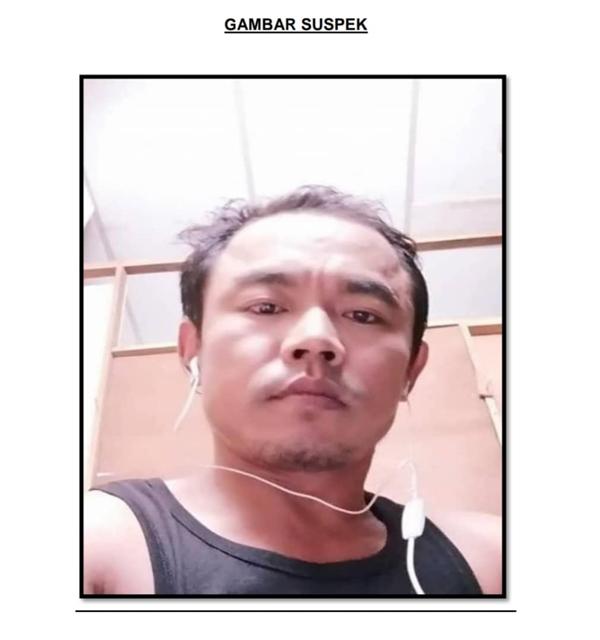 警方公布涉案嫌犯的照片。