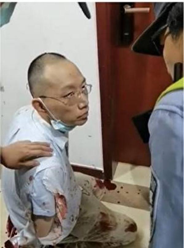 凶手姜文华遭警方逮捕。