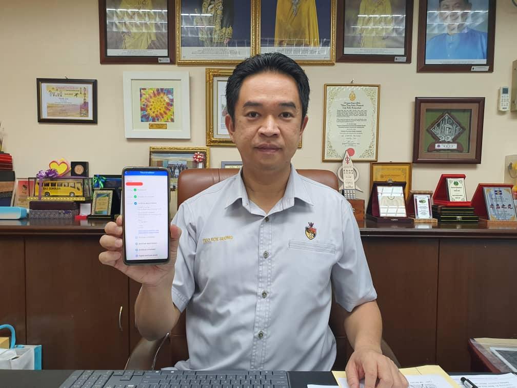 张聒翔呼吁马口民众,如有面对问题可以联系服务中心寻求协助。