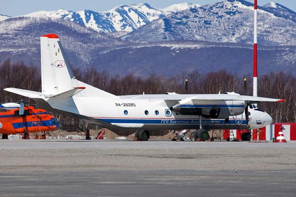 俄罗斯安-26客机。(资料图)