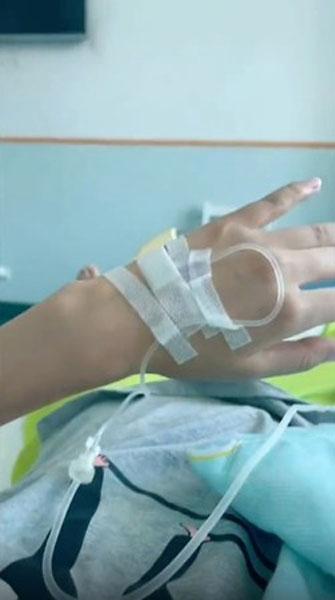 苏日曼记录就医检查等抗癌过程。