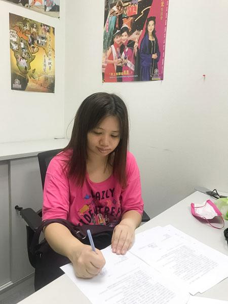 亚视未公布与薛影仪合约细节。