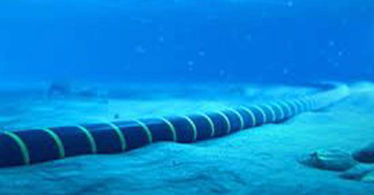 全球互联网,靠铺设于深海底下的海底电缆链接而成,已有100多年历史。(受访者提供)