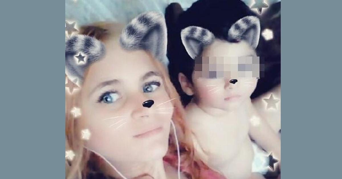 安德烈亚与孩子合照。