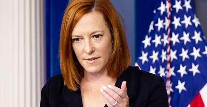白宫新闻秘书普萨基直言,鞭打移民的画面可怕。