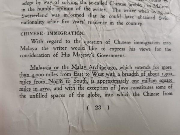 """陈祯禄认为:""""马来人相对来说是新来者,他们撵走了更早来到的原住民如沙盖人、色芒人和耶昆人,这些原住民在这个国家还有少数的居住点""""。"""
