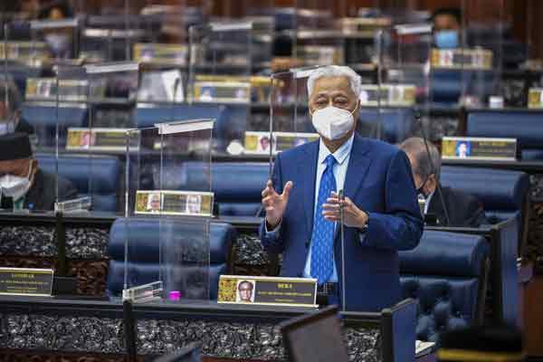 首相拿督斯里依斯迈沙比里。(档案照)