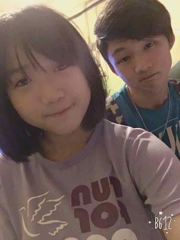 年轻夫妻陈善文(左起)及林锜渶在车祸中,当场丧命。